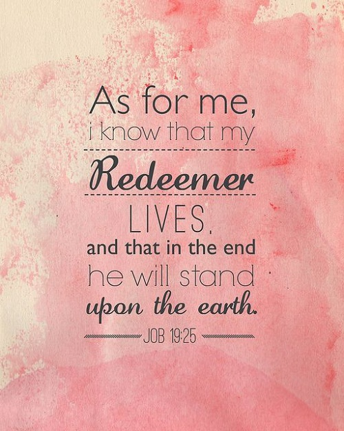 Redeemer Bible Quotes