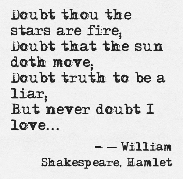 Shakespeare Quotes Hamlet