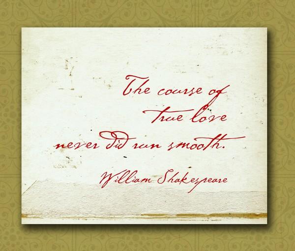 Shakespeare Wedding Quotes