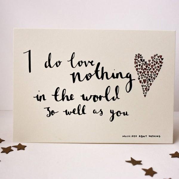 Valentine Quotes Shakespeare