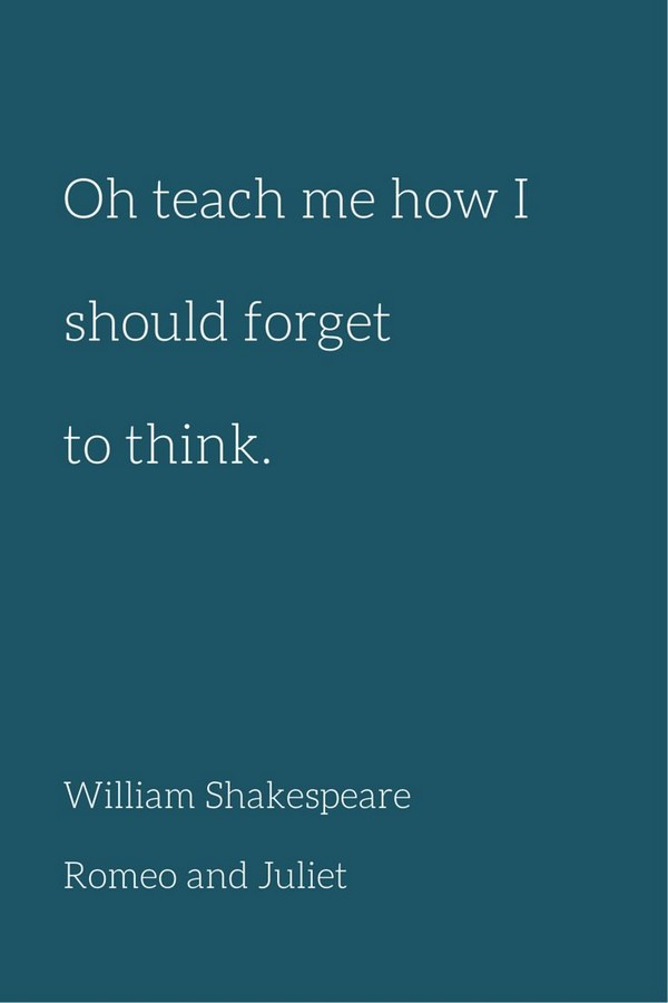 William Shakespeare Quotes Romeo And Juliet