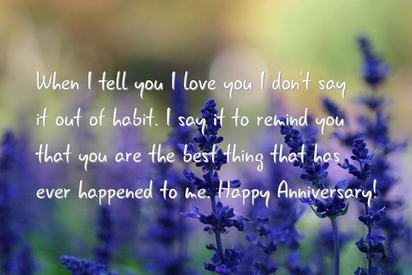 Anniversary Love Messages
