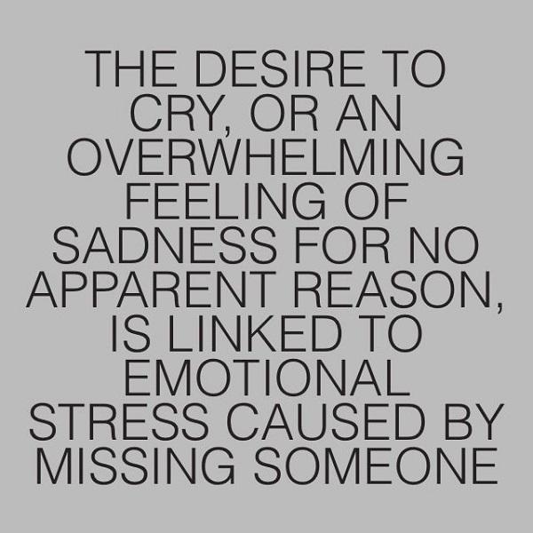 Missing someone far away