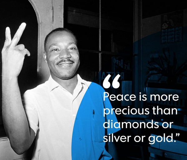 Martin Luther King Quotes Arc Of History