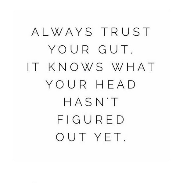 Quotes About Trust Gut