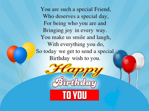 Fabulous Birthday Wishes For Friend