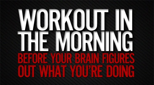 Workout Funny Good Morning Quotes