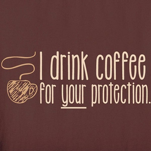 Protection Funny Good Morning Quotes