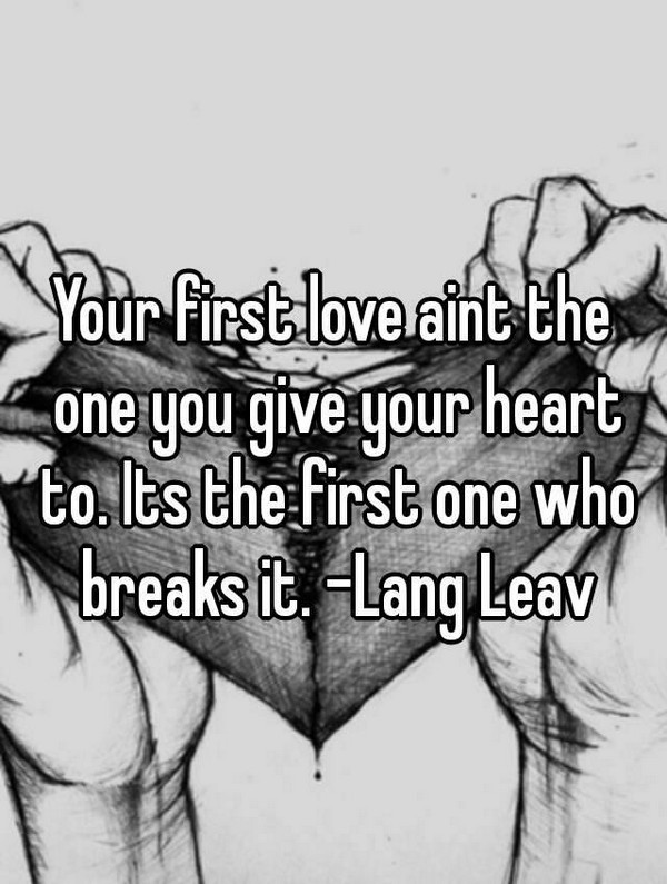 First And Last Love Quotes