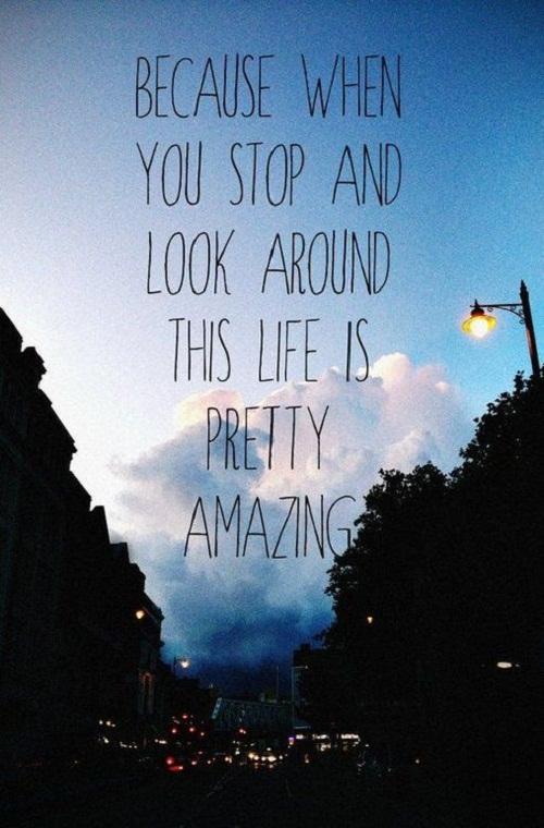 Life is Pretty Amazing Quotes