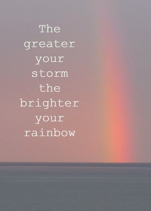 Brighter Rainbow Amazing Quotes