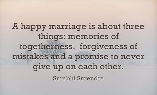 Short Sweet Marriage Quotes