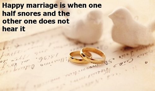 Happy and Funny Marriage Quotes