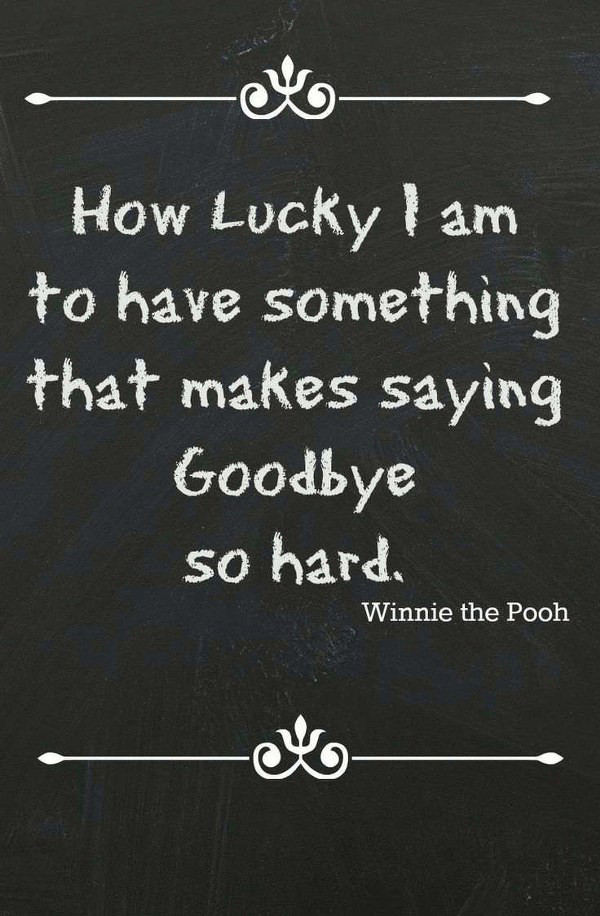 farewell goodbye quotes