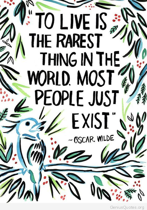 To Live Is Rarest Thing