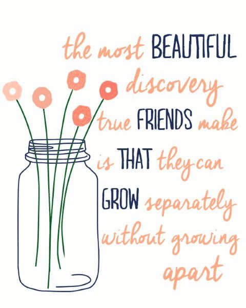 Friends apart from each other missing you quotes.