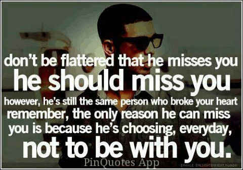 Missing you quotes about missing the wrong person.