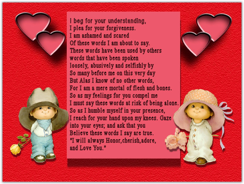 Funny Love Poems for Him