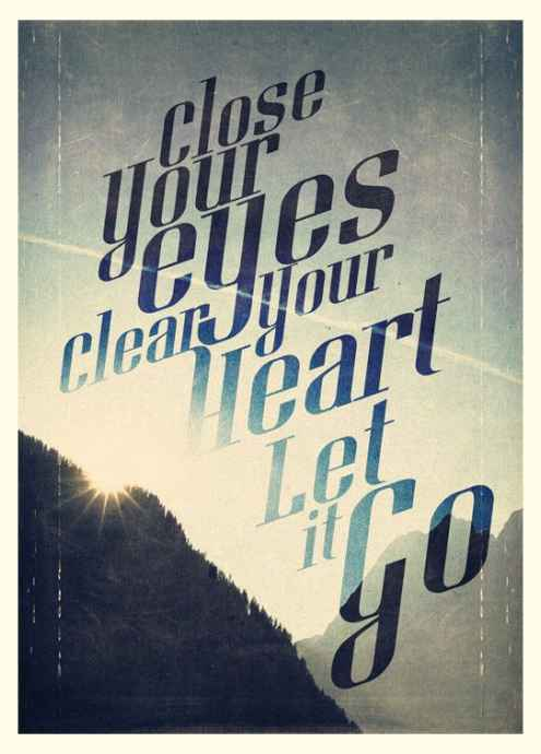 sayings about letting go of love
