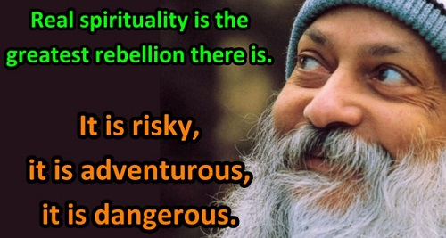 Osho Quotes About Spirituality
