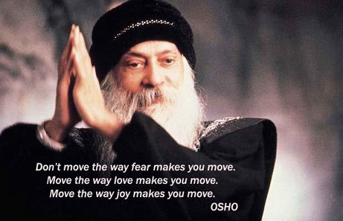 Inspirational Osho Quotes on Fear
