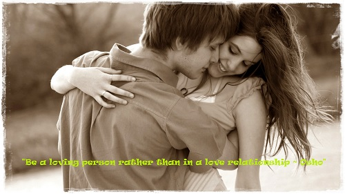 Best Osho Quotes on Love Relationships