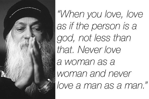 Cute Osho Quotes on Love
