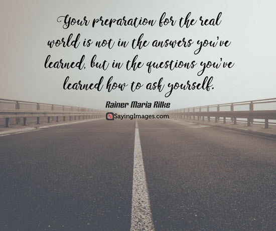 rainer maria rilke quotes preparation for the real world