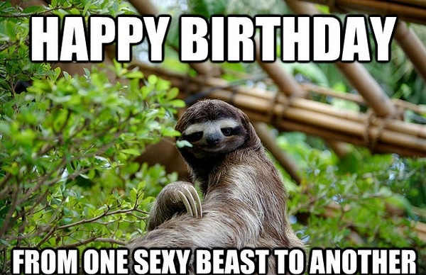 Sexy Beast To Another Best Friend Birthday Meme