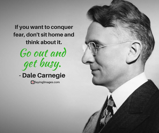 dale carnegie busy quotes