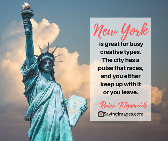new york busy quotes
