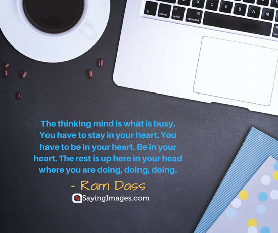ram dass busy quotes
