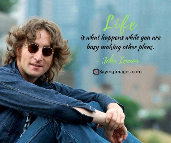 john lennon busy quotes