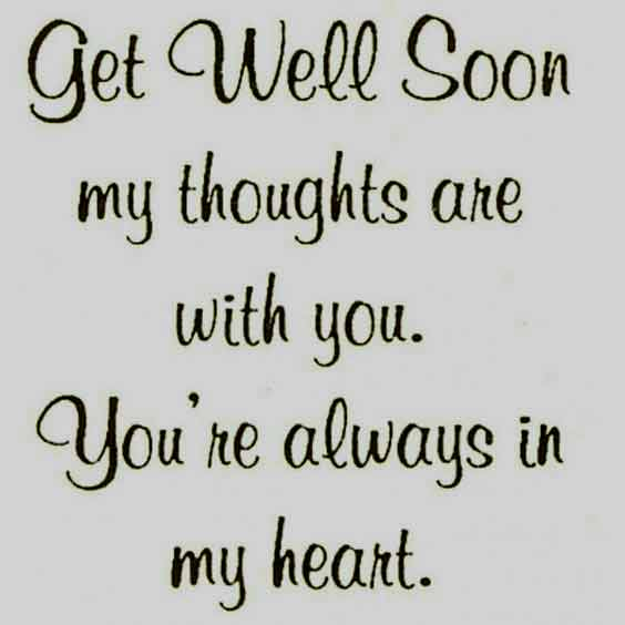50 Best Get Well Soon Quotes Images Messages To Share With ...
