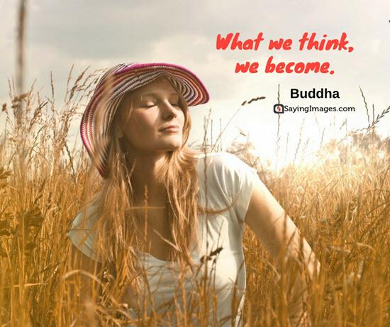 buddha thinking quotes