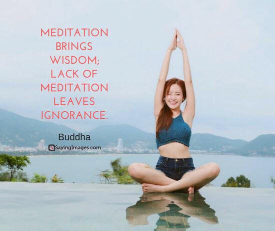 buddha meditation quotes
