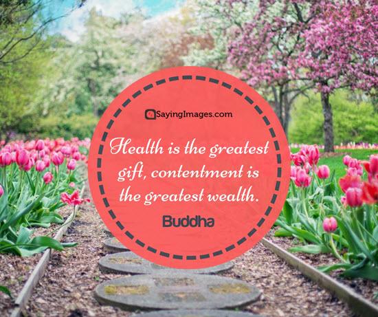 buddha health quotes