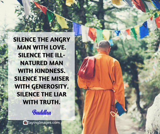 buddha silence quotes