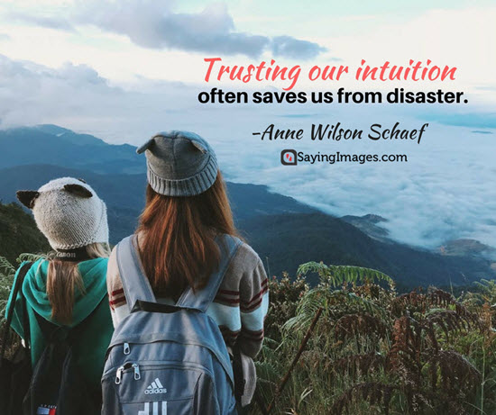 trusting our intuition quotes