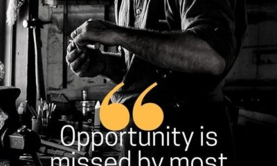 Opportunity Is Missed By Most