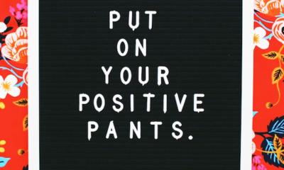 Positive Pants