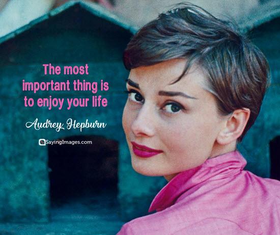 audrey hepburn happiness quotes