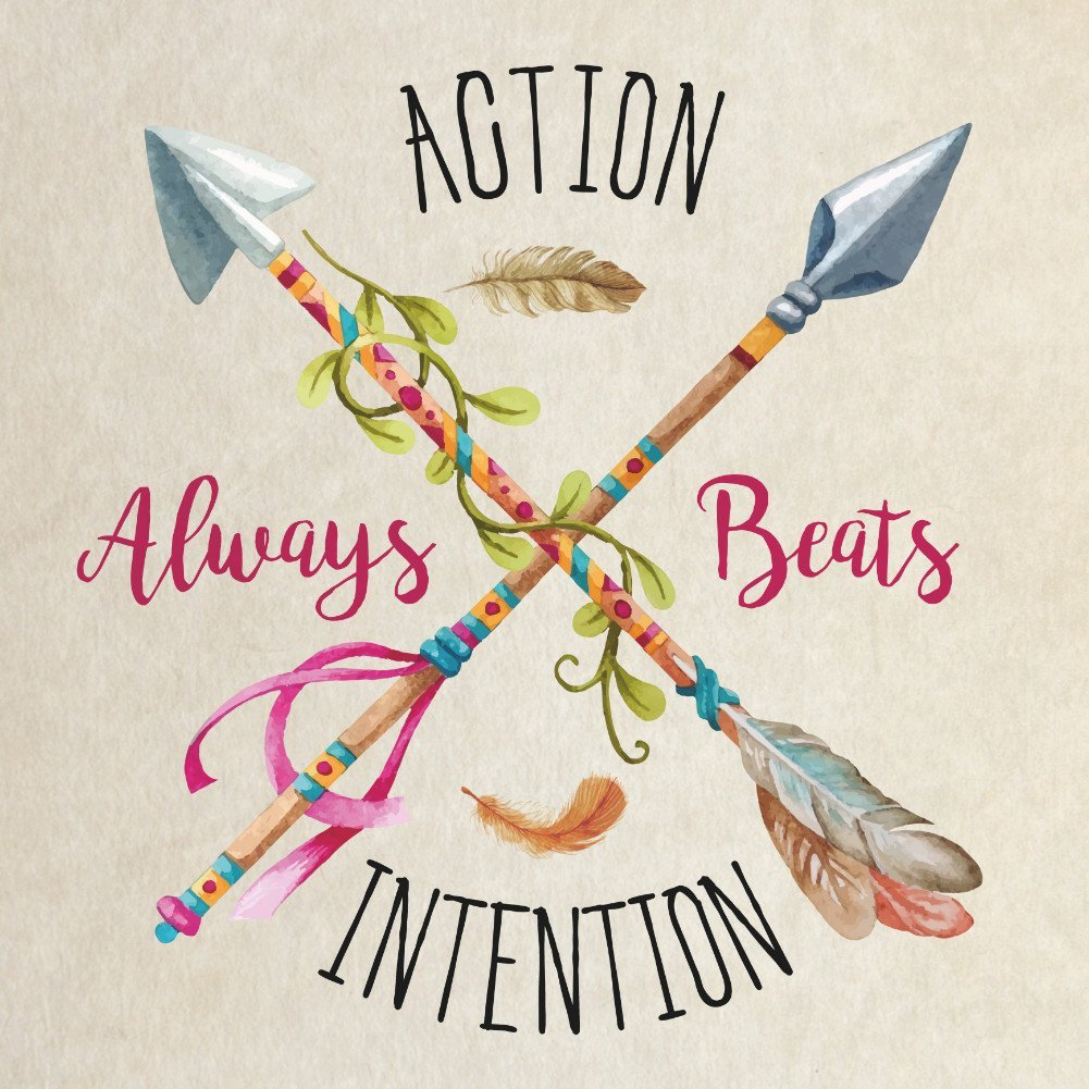 Action Beats Intention Motivational Daily Quotes Sayings Pictures