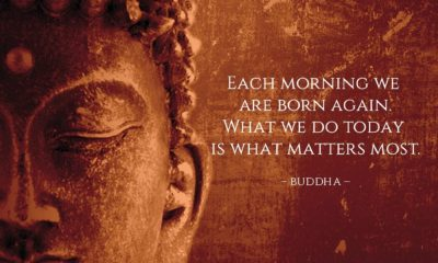 Each Morning Born Again Buddha Daily Quotes Sayings Pictures