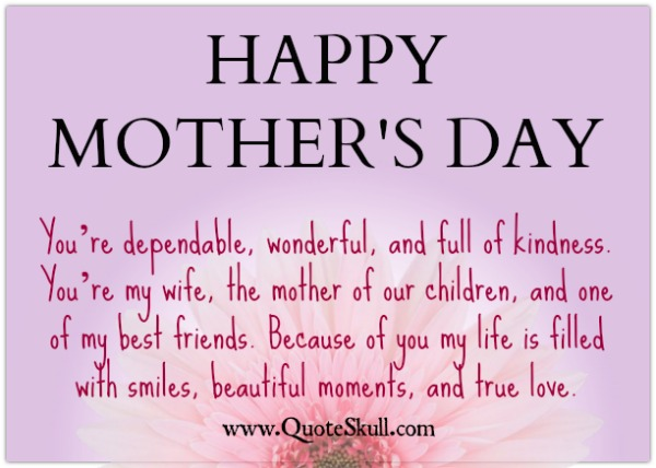 Mothers Day Quotes From Husband To Wife Word Porn Quotes Love