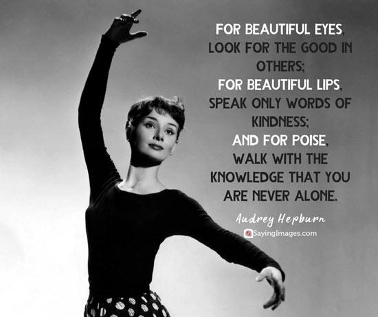 audrey hepburn beautiful quotes