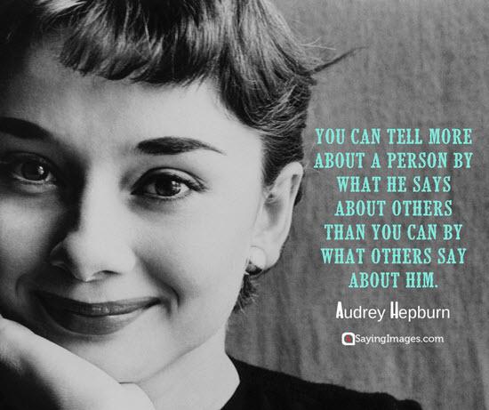 audrey hepburn quotations