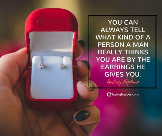 audrey hepburn earrings quotes