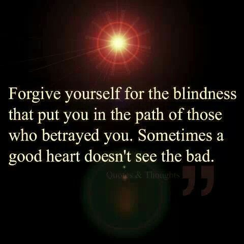Betrayal Quotes blindness