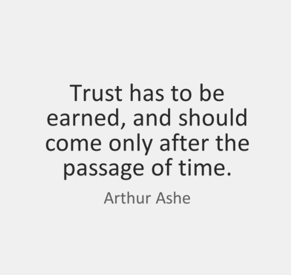 Best Quotes On Trust And Trust Issues